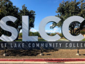 SLCC sign at the Taylorsville Redwood Campus