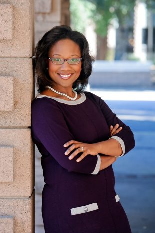 Publicity photo of Dr. Talithia Williams