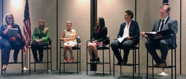 Tech talent pipeline discussion panelists