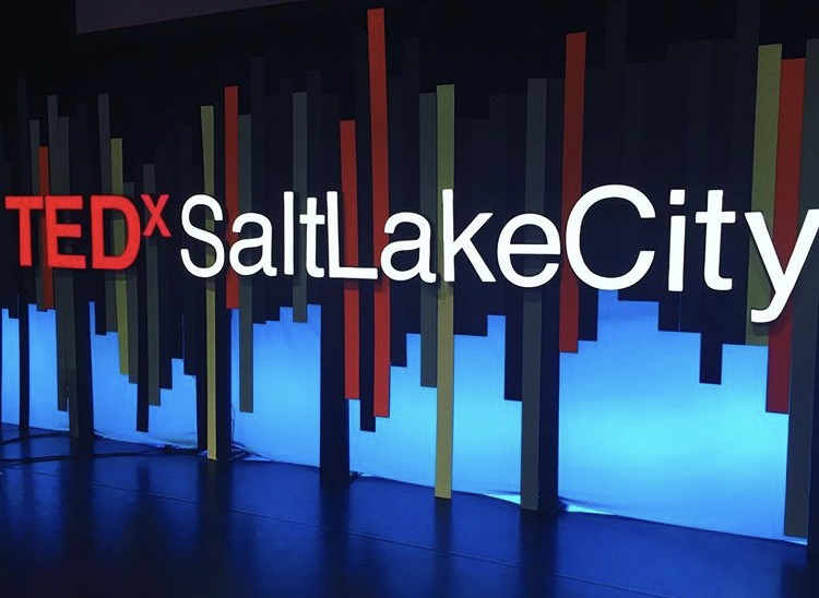 TEDxSaltLakeCity sign