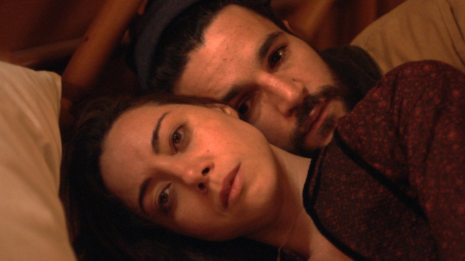 "Aubrey Plaza and Christopher Abbott in ""Black Bear"""