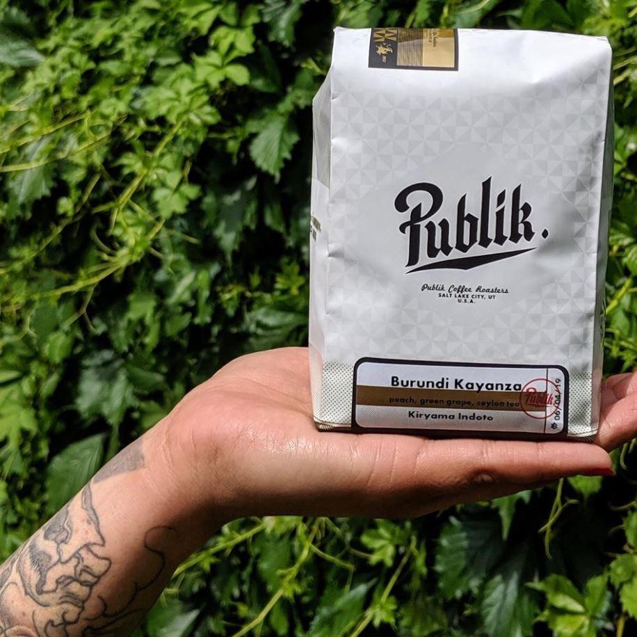 Bag of Publik Coffee