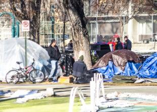 Homeless Campsite