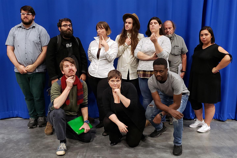 Radio drama cast photo