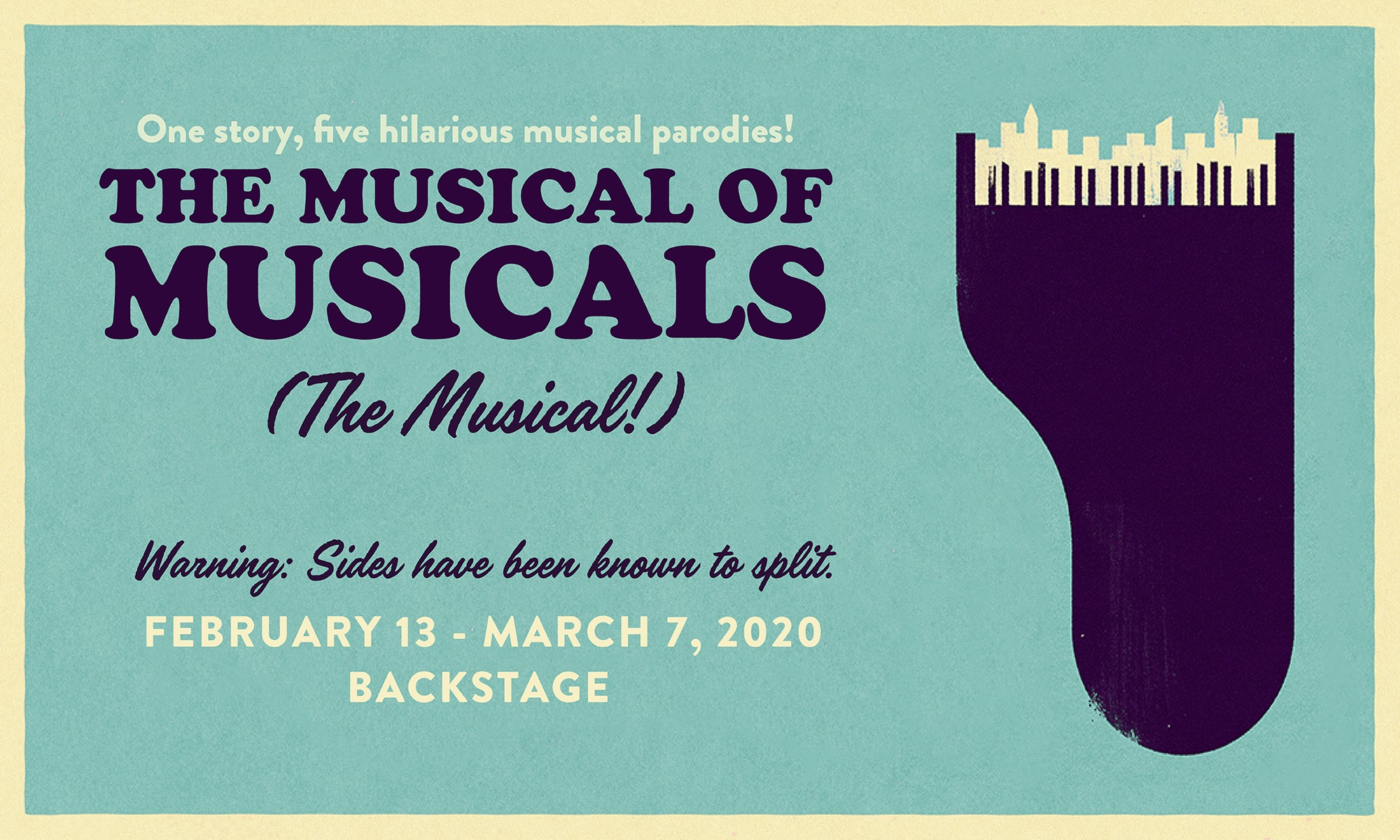 The Musical of Musicals (The Musical!) web graphic