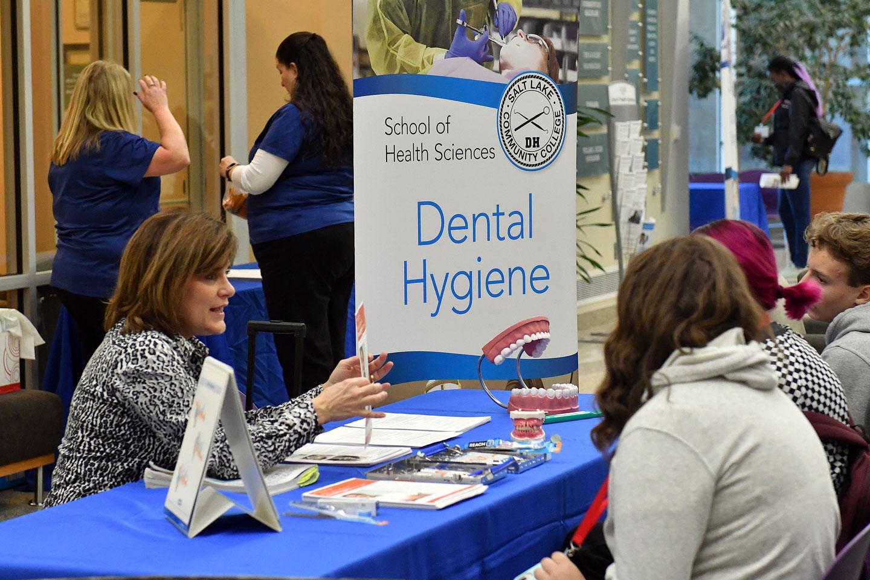 Dental Hygiene booth