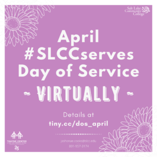 #SLCCserves graphic