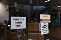 Bookstore closed until further notice