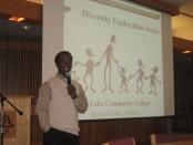 Dr. Abio Ayeliya speaks at Diversity Exploration Series