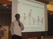 Dr. Abio Ayeliya speaks at Diversity Exploration Series