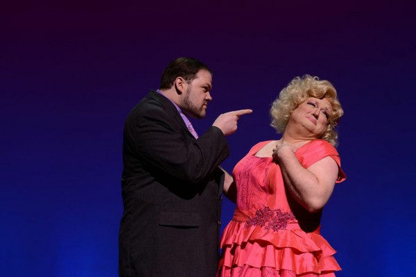 David Hanson playes Georges and Kenneth Wayne plays Albin / ZaZa in the Grand's production of 'La Cage aux Folles.