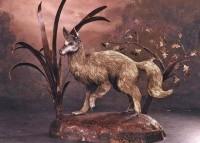 Welded desert animal sculpture