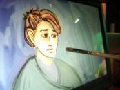 Virtual painting exhibit at The Leonardo