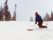 Skier at Solitude