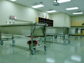Mortuary Science Cadaver Lab