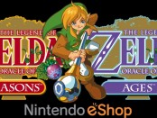 Promotional Artwork for the Legend of Zelda: Oracle of Seasons and Oracle of Ages