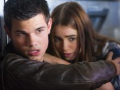 Taylor Lautner and Lily Collins in 'Abduction'.