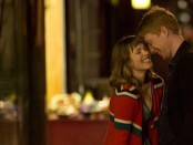 The first act of the film comes across as the usual romantic comedy as we see Tim (Domnhall Gleeson) go out of his way, and time, to court Mary (Rachel McAdams)