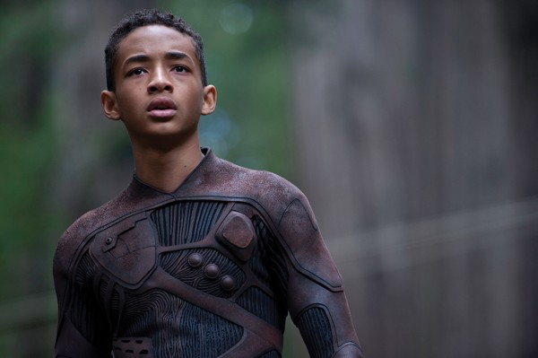 "Jaden Smith as Kitai Raige in a scene from ""After Earth"""
