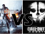 It's gun blazing as we compare the FPS titans Battlefield 4 and Call of Duty Ghosts