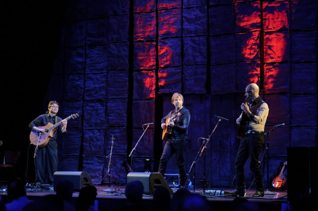 California Guitar Trio on stage