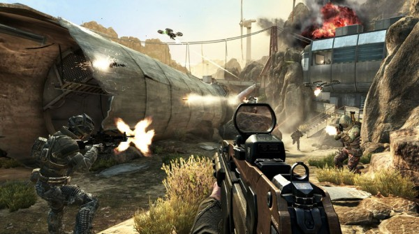 Scene from Call of Duty: Black Ops 2