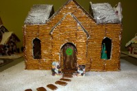 Gingerbread monastery