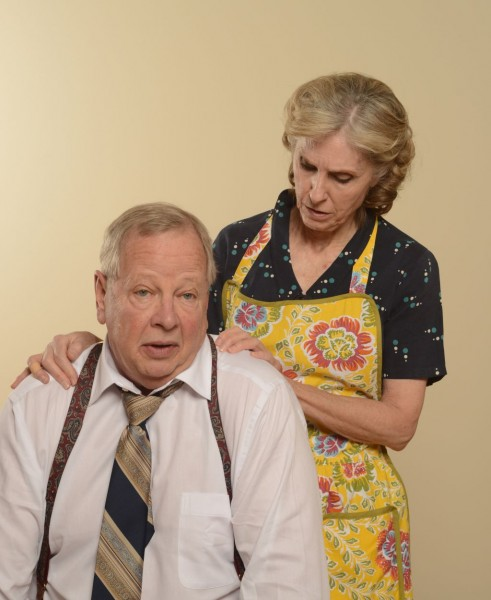 Richard Scott and Anita Booher in 'Death of a Salesman'