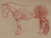 The Devil's Rider's horse