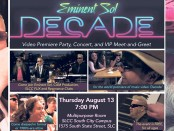 """Decade"" music video premiere poster"