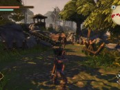 Fable Anniversary's combat system in use