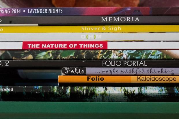 Past Folio magazines