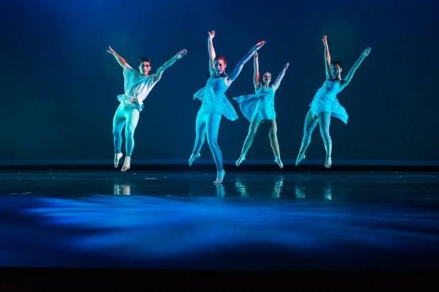 SLCC Dance Company rehearsal