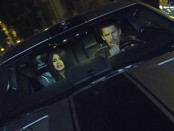 A screen from Getaway featuring Selena Gomez and Ethan Hawke