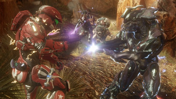 Scene from Halo 4 video game