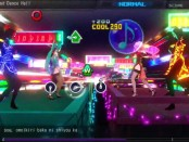 A screenshot of World's End Dance Hall from Project Diva F