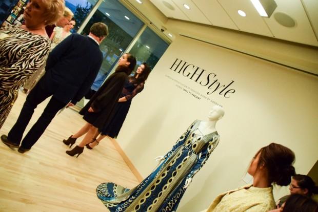 Visitors admire Cordelia Gown