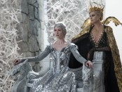 "Emily Blunt and Charlize Theron in ""Winter's War"""