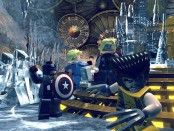 Lego Marvel Super Heroes takes various heroes form different marvel franchises and sends to locales both strange and familiar, such as Asgard.