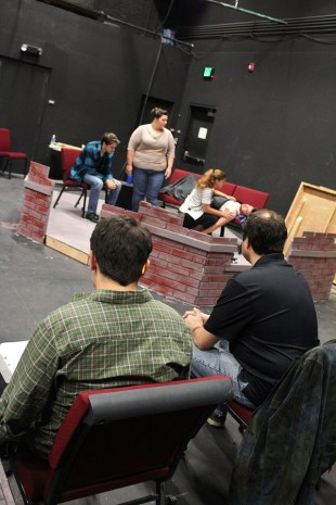 """A Lie of the Mind"" rehearsal"