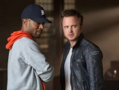 Aaron Paul (right) and Scott Mescudi (left)