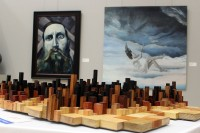3D Wood cityscape