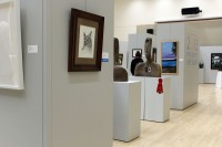 President's Art Show items on display