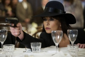 Still from 'Red 2' featuring Catherine Zeta-Jones