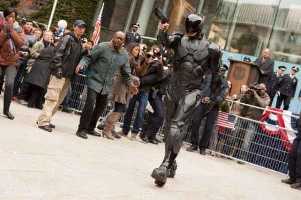 Still from RoboCop featuring Joel Kinnaman