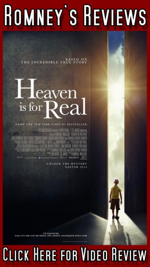 """Romney's Reviews: """"Heaven is for Real"""""""