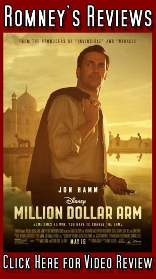"Romney's Reviews: ""Million Dollar Arm"""