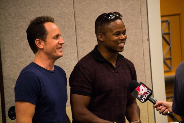 David Yost, left, and Walter Jones