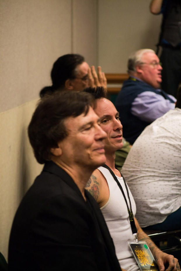 Richard Hatch, front, and Noah Hathaway