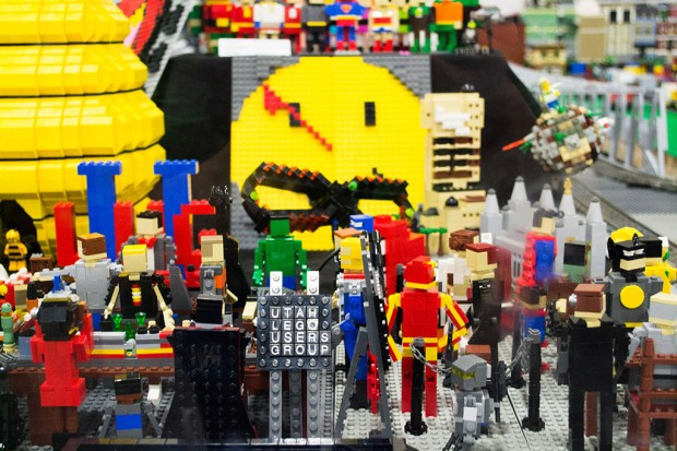 Utah Lego Users Group display